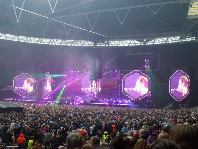 Coldplay - A Head Full of Dreams Tour - Wembley Stadium - 5