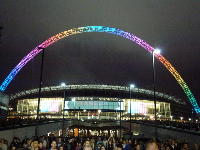 Coldplay - A Head Full of Dreams Tour - Wembley Stadium - The crowd heads home