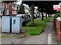 ST1679 : Vote Remain 23 June, Birchgrove Road, Cardiff by Jaggery