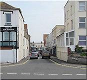 ST3049 : Western end of Regent Street, Burnham-on-Sea by Jaggery