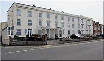 ST3049 : Row of three-storey houses, Esplanade, Burnham-on-Sea by Jaggery