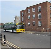 ST3049 : Bridgwater bus in Burnham-on-Sea by Jaggery
