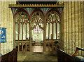SP9957 : St Mary, Felmersham - Screen by John Salmon