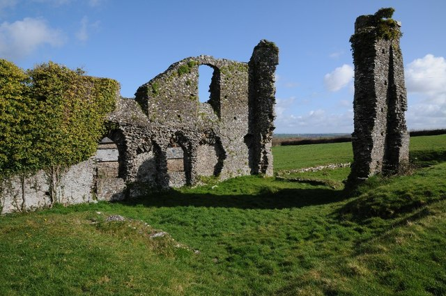 Ruins of Frithelstock Priory