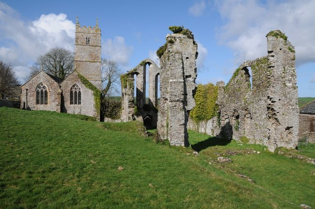 Frithelstock Priory and church