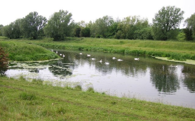 River Welland, junction with Folly River