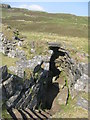 NG3338 : Stairway in Dùn Beag broch by M J Richardson