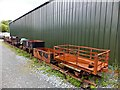 SH5739 : Rack of rusty wagons by Richard Hoare