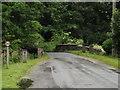 TL9281 : Rushford Bridge on the C147 Rushford Road by Adrian Cable
