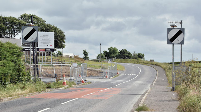 The Movilla Road, Newtownards (June 2016)
