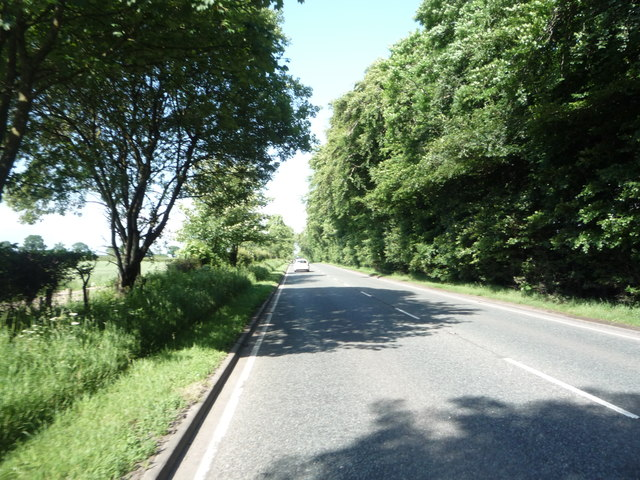 A595 heading north east