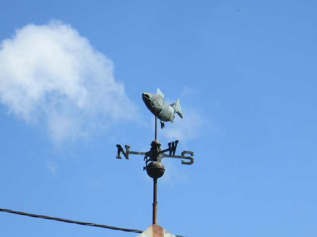 Weather vane at Horncliffe