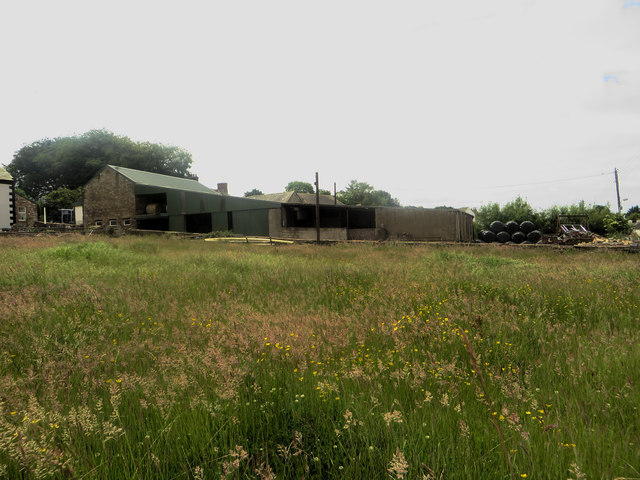 Farm buildings in Gilcrux
