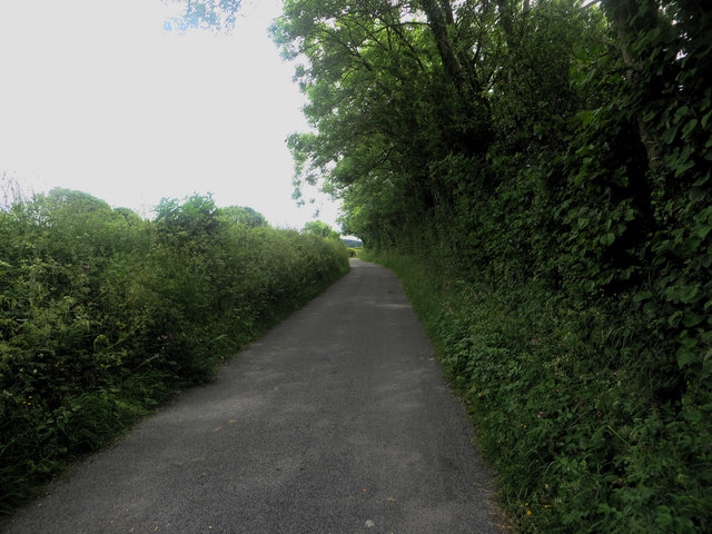 County lane south of Gilcrux
