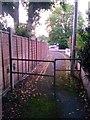 SZ0896 : Northbourne: halfway along footpath O22 by Chris Downer