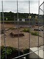 SE2436 : Looking through the security fence, Kirkstall Forge by Rich Tea