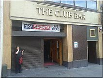 NS4864 : The Club Bar, Moss Street, Paisley by Raymond Donaghey