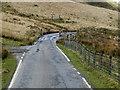 SN8375 : The Road through Cwm Ystwyth by David Dixon