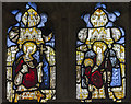 TG1124 : Medieval Stained glass. Ss Peter & Paul church, Salle by J.Hannan-Briggs