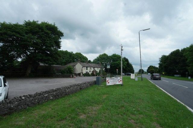 Roadside hoardings at Lane Head