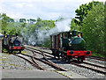 NS4408 : Fireless Steam at Waterside by Mary and Angus Hogg
