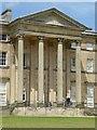 SJ5509 : Portico in Attingham Hall by Philip Halling