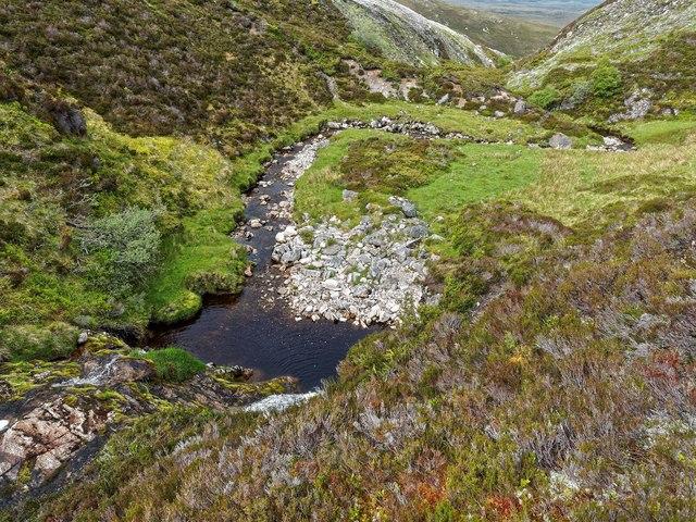 The Allt Tarsuinn - Glenkyllacky Forest