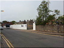 NT9953 : Construction site, Walkergate, Berwick-upon-Tweed by Graham Robson