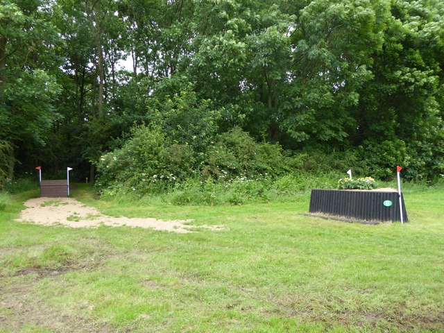 Catton Park Horse Trials: cross-country obstacles