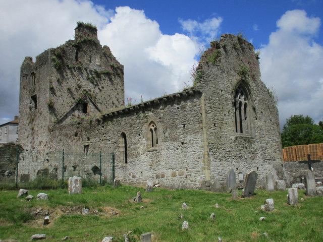 Choir and tower, Cahir Priory