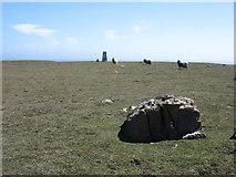 HP6612 : Hill of Clibberswick summit by David Purchase