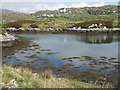 NG2294 : Tidal island in Bagh Ceann na Muice by M J Richardson