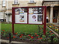 TL1898 : Peterborough Museum Notice Board by Geographer