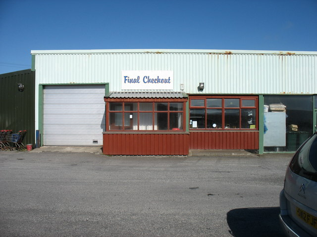 Britain's most northerly shop