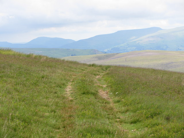 Track on Coety Mountain