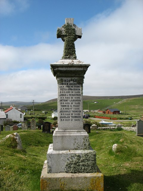 Britain's most northerly War Memorial