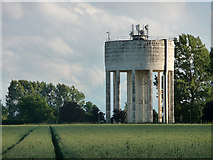 TM1888 : Water tower near Colegate End by Stephen Richards