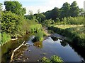 NY6718 : Hoff Beck from Bandley Bridge by Andrew Curtis