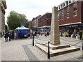 TL1998 : Peterborough War Memorial on Bridge Street by Geographer