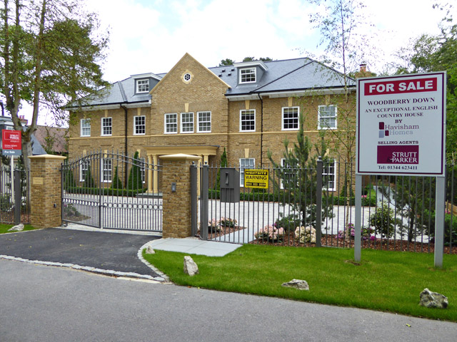 New house on St. Mary's Road