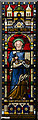 SK9872 : Stained glass window, St Giles' church, Lincoln by Julian P Guffogg