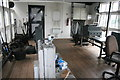 SJ6475 : Anderton Boat lift - original control cabin by Chris Allen