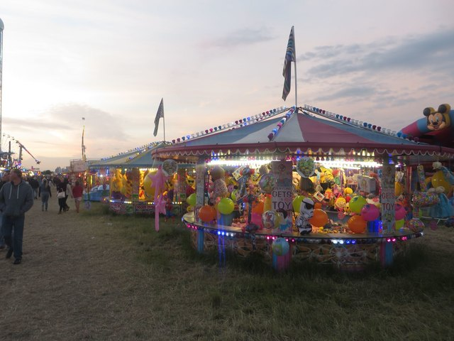Hook-a-duck, the Hoppings, Newcastle-upon-Tyne