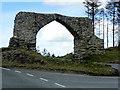 SN7675 : The Jubilee Arch near Devil's Bridge by David Dixon