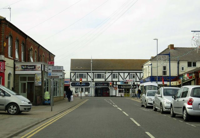 Victoria Road in Mablethorpe