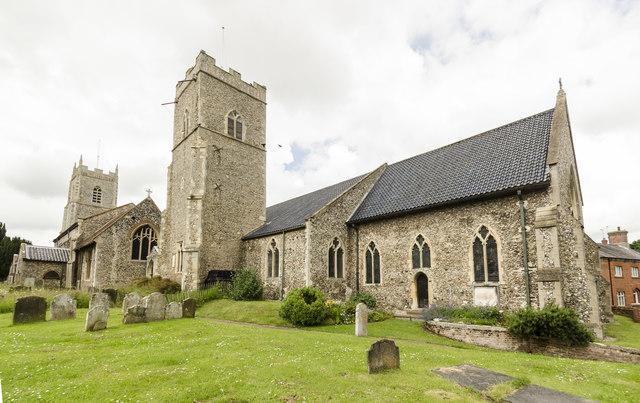 St Mary's & St Michel's church, Reepham