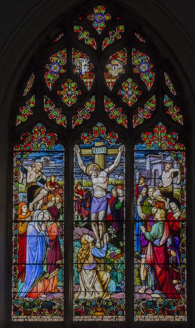 East window, St Mary's church, Reepham