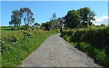 NS3478 : Track to Kilmahew Farm by Lairich Rig