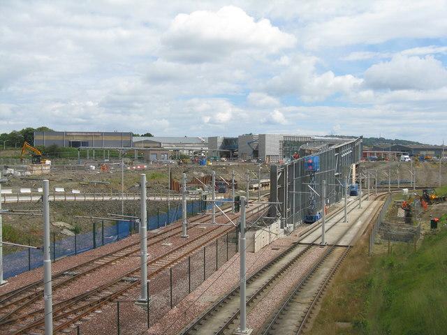 Station Construction at Maybury