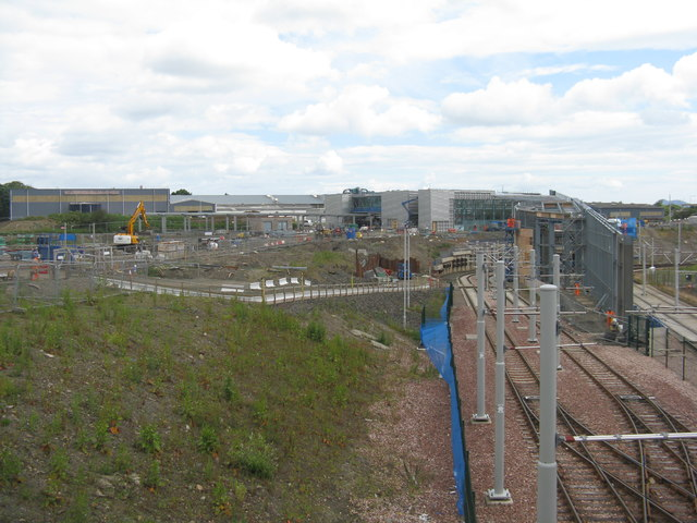 Station Construction at Maybury